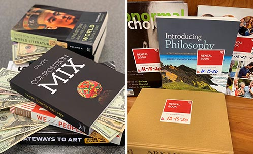 Book buyback in on; rented textbooks due Dec. 15