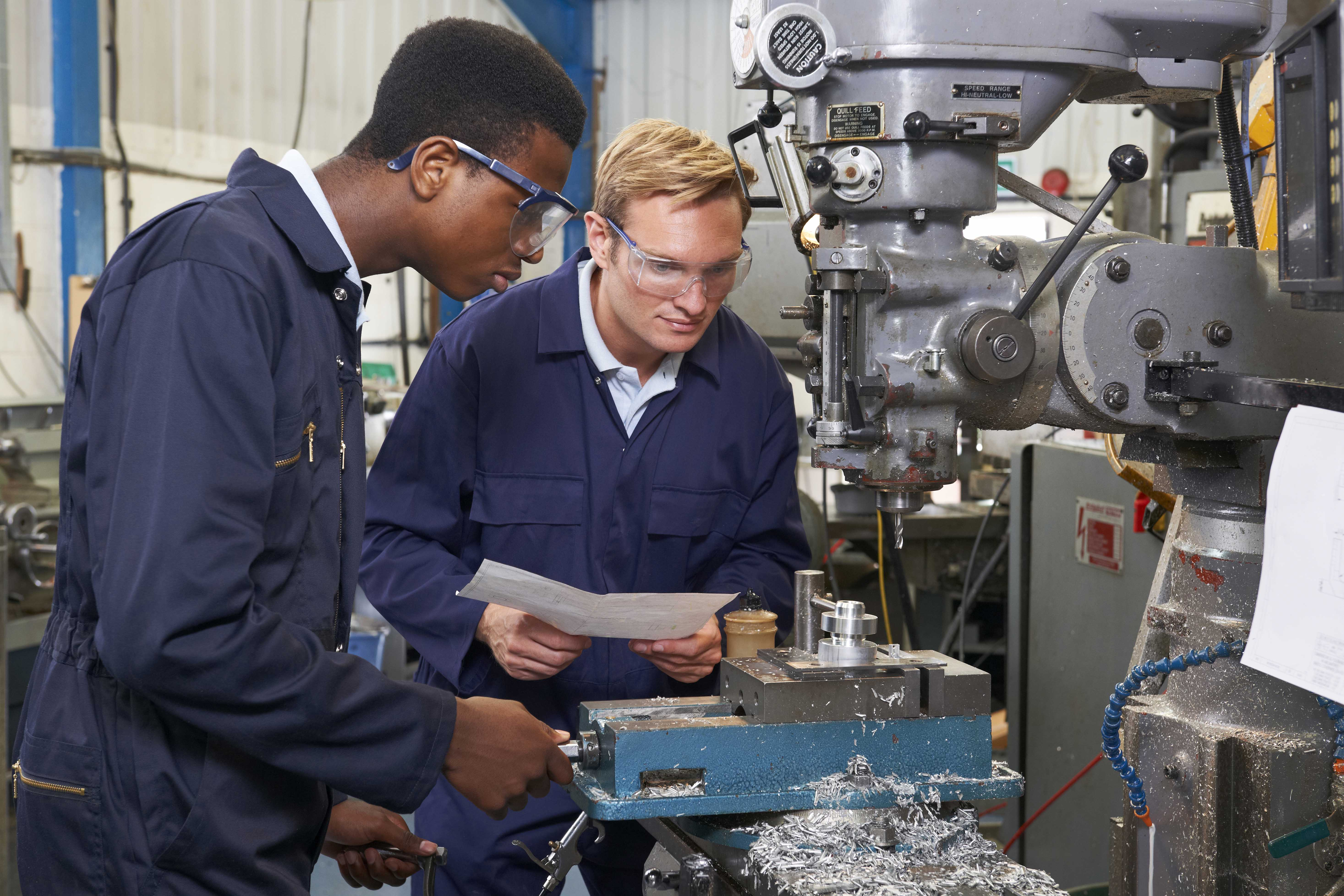 Industrial Training through the Business and Industry Center