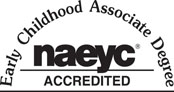 Early Childhood Associate Degree NAEYC Accredited logo