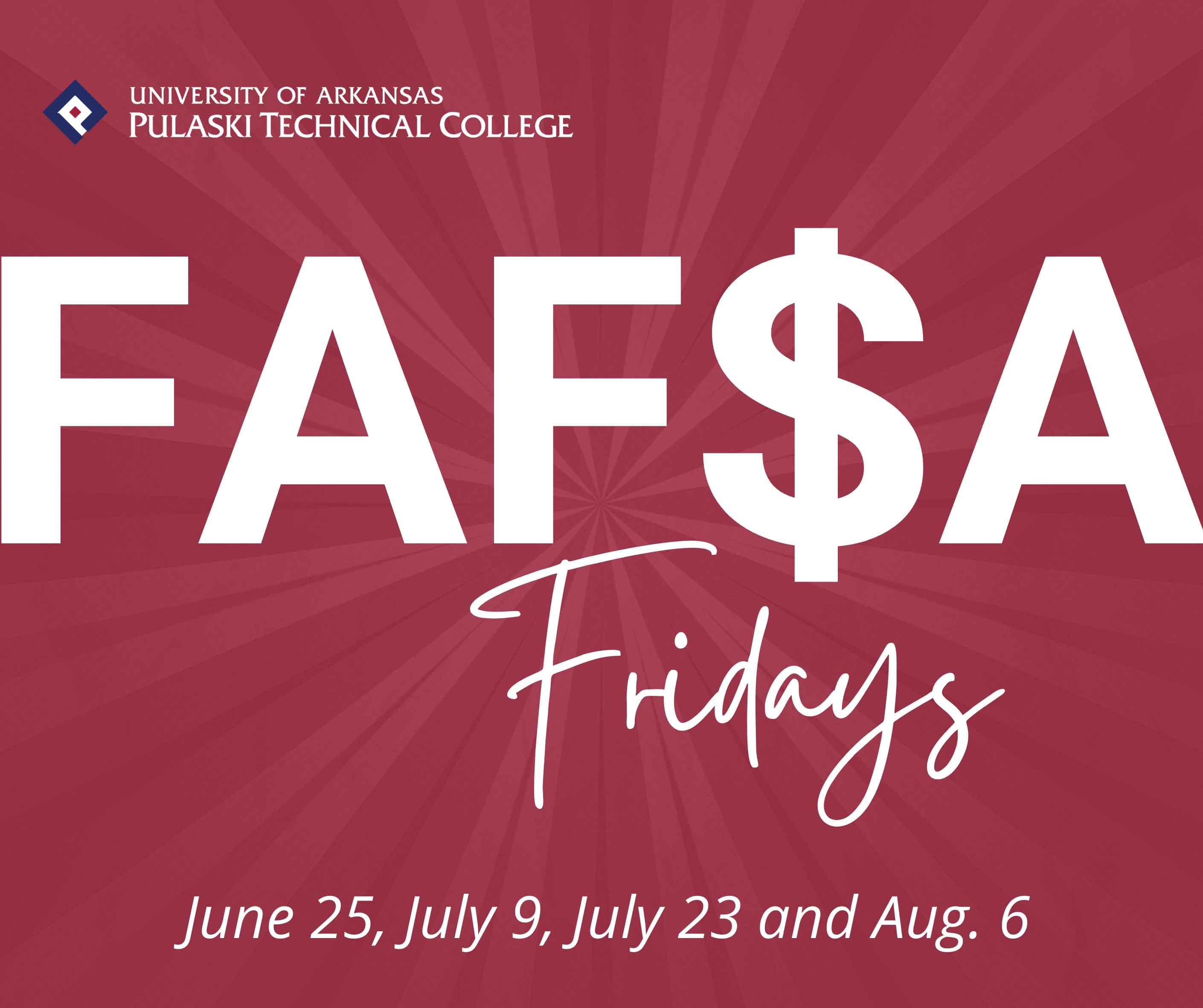 UA-PTC FAFSA Fridays