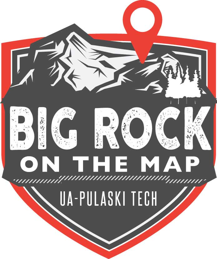 Big Rock on the Map Logo