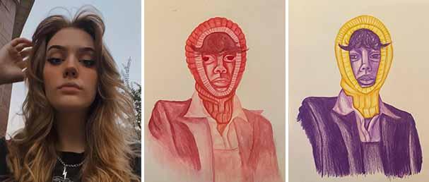 Haven Kays - Best in Show - Color Study Portraits - 2D Design