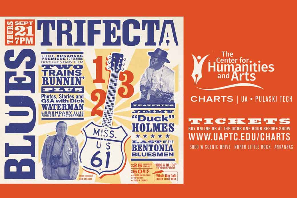 Blues Trifecta coming to UA-PTC Sept. 21