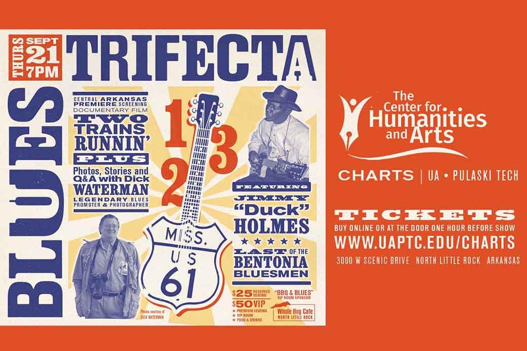 Blues Trifecta coming to UA-PTC Sept. 21