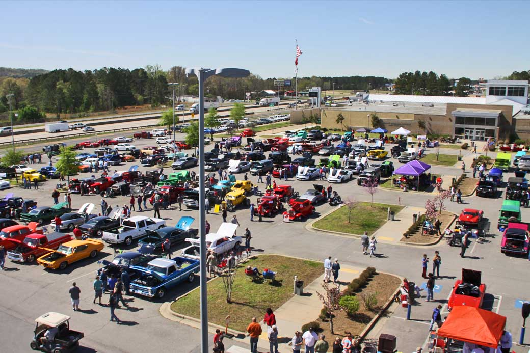 Truck down to the UA–PTC Car Show Oct. 12!