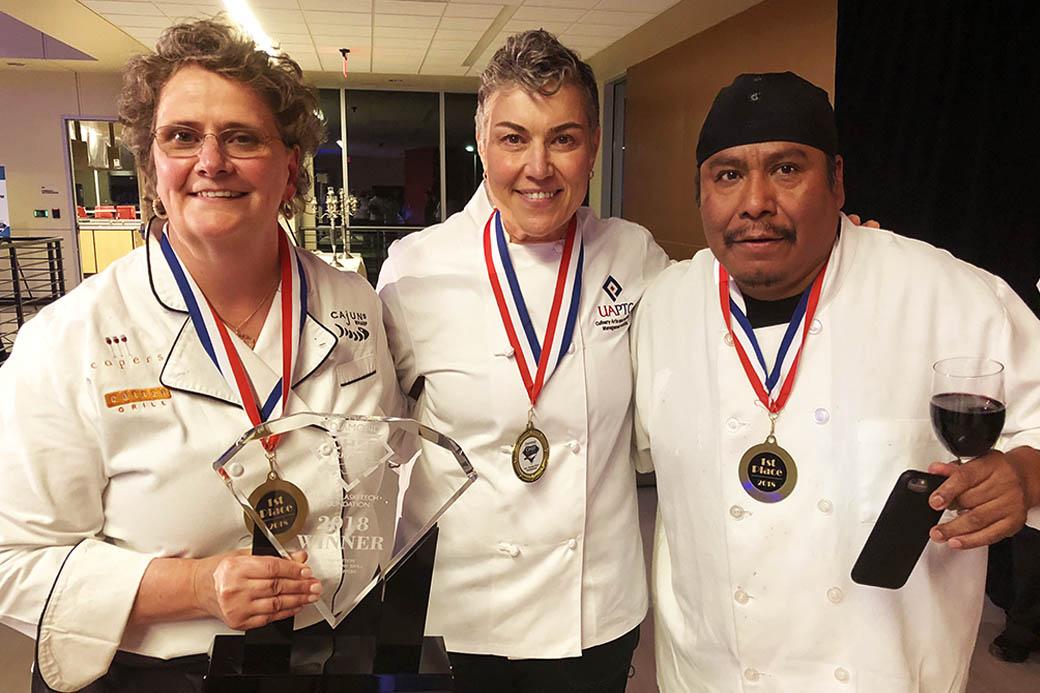 Ringgold repeats as Diamond Chef Champ
