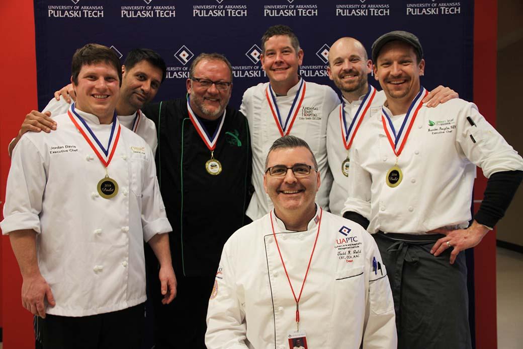 Diamond Chef Arkansas Makin' The Cut preliminary competition finalists