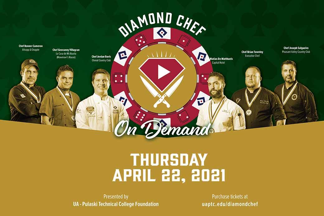 Diamond Chef Arkansas On Demand to heat up screens April 22