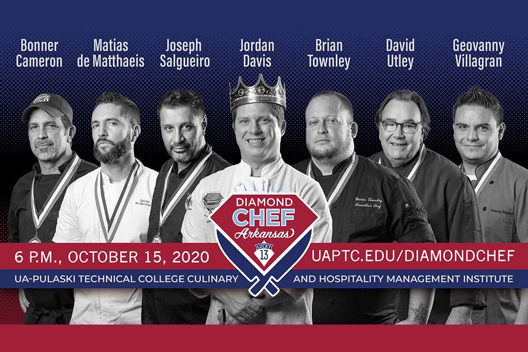 Diamond Chef Arkansas Rescheduled for Oct. 15