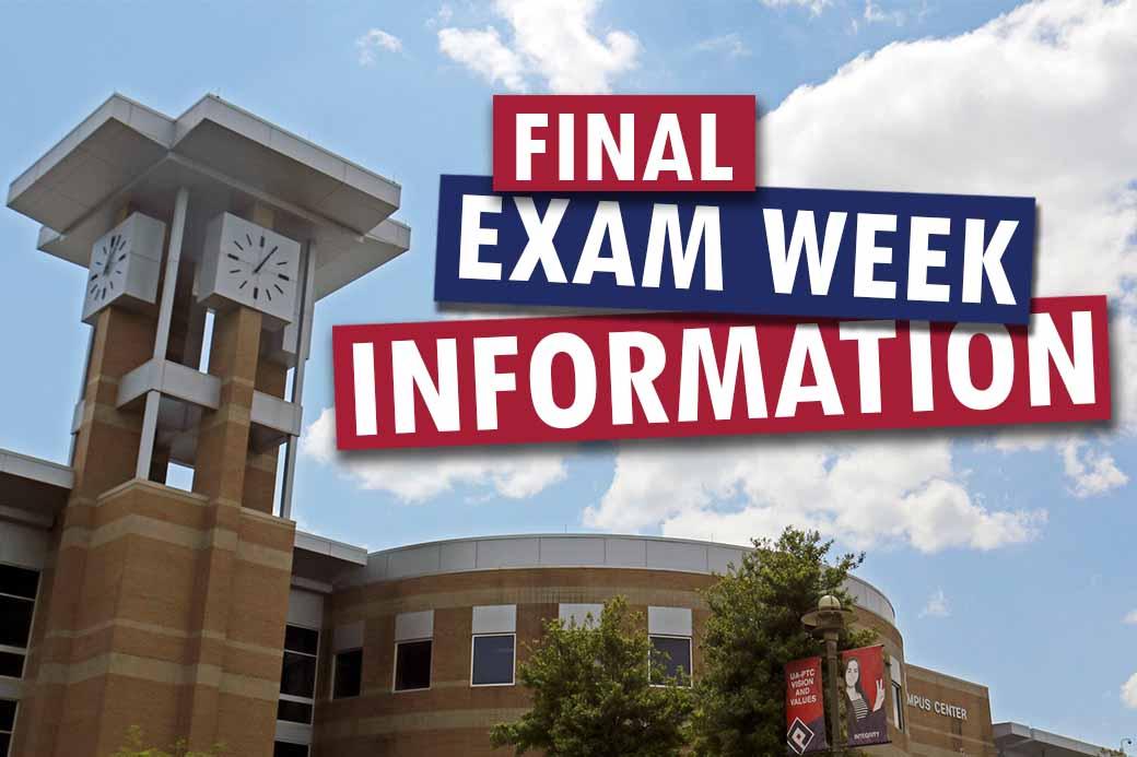 Spring 2021 final exams begin May 5