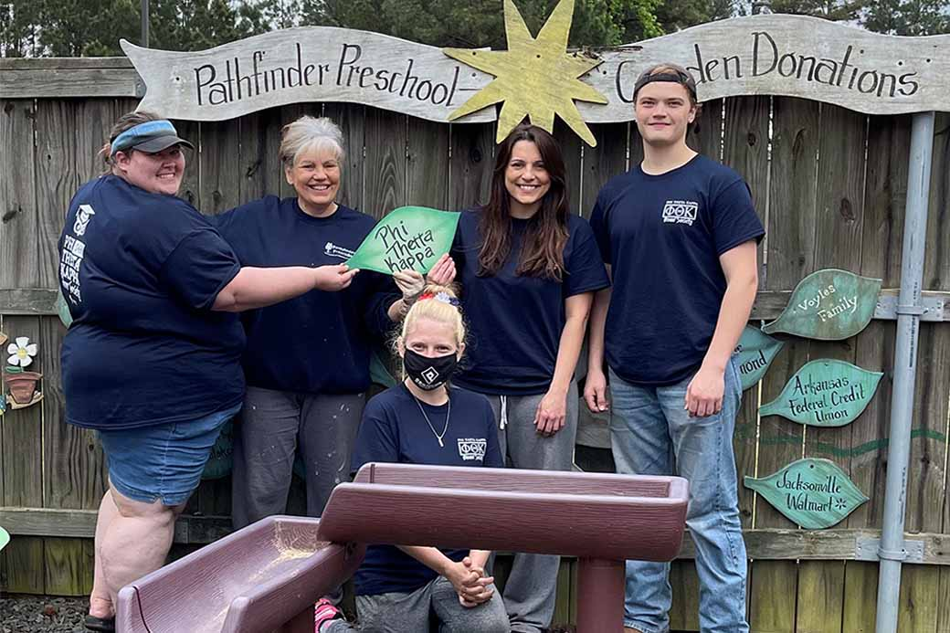 Phi Theta Kappa completes spring service project
