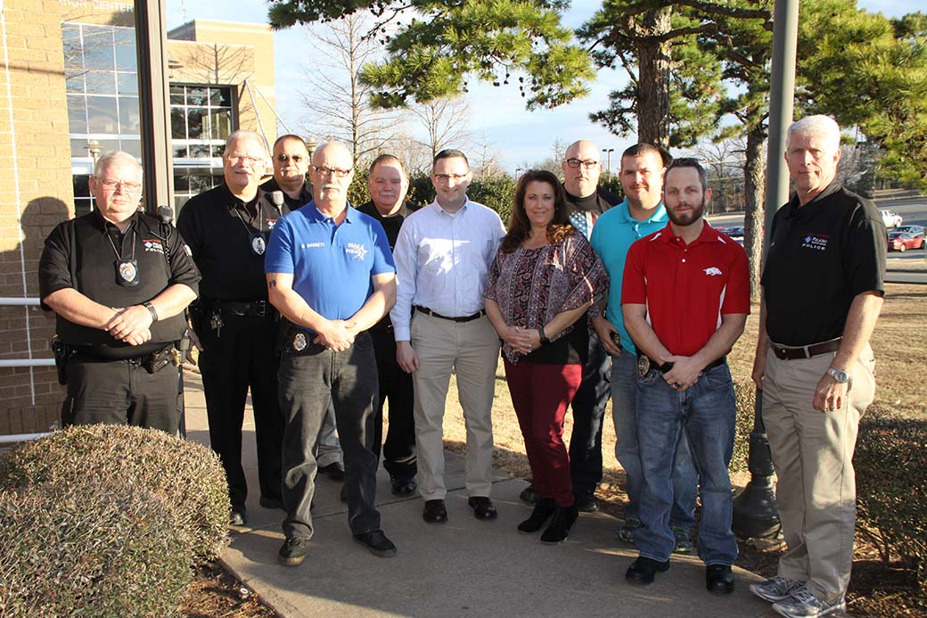 40-hour law enforcement refresher course attendees