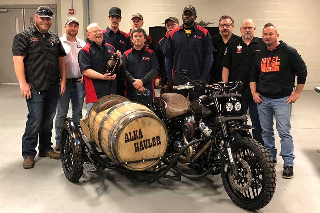 Power Sports creates custom Harley Davison bike