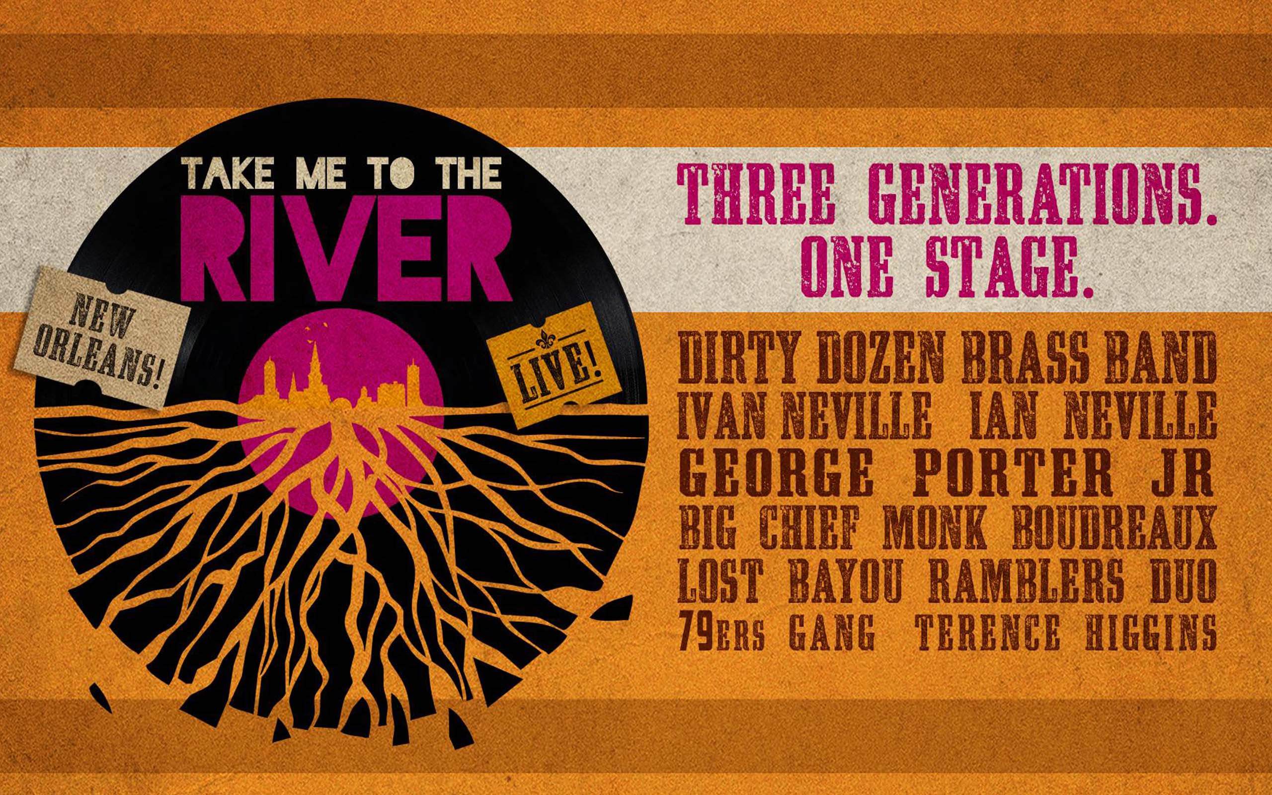 Take Me to the River New Orleans LIVE