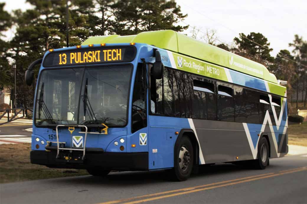 Rock Region METRO Bus
