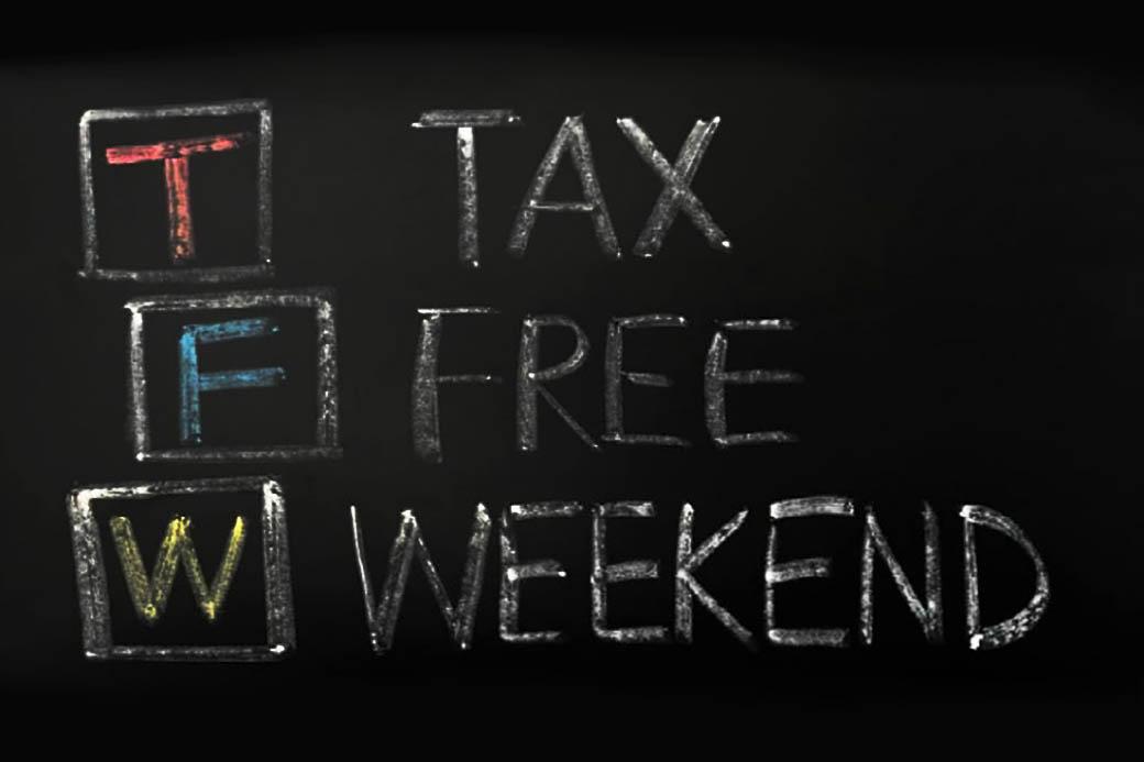Tax-free weekend begins Saturday, Aug. 7