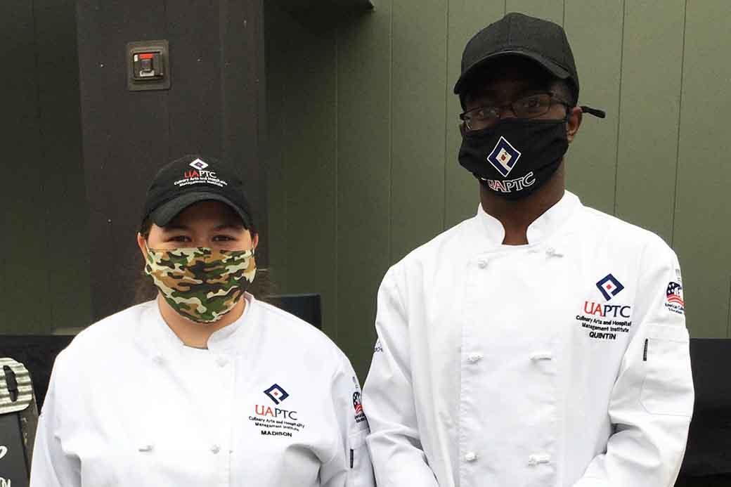 Two UA-PTC 2021 Spring graduates land jobs at the Blue Cake Company