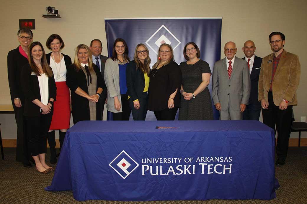 UA-PTC and UA Walton College of Business announce 2+2 agreement