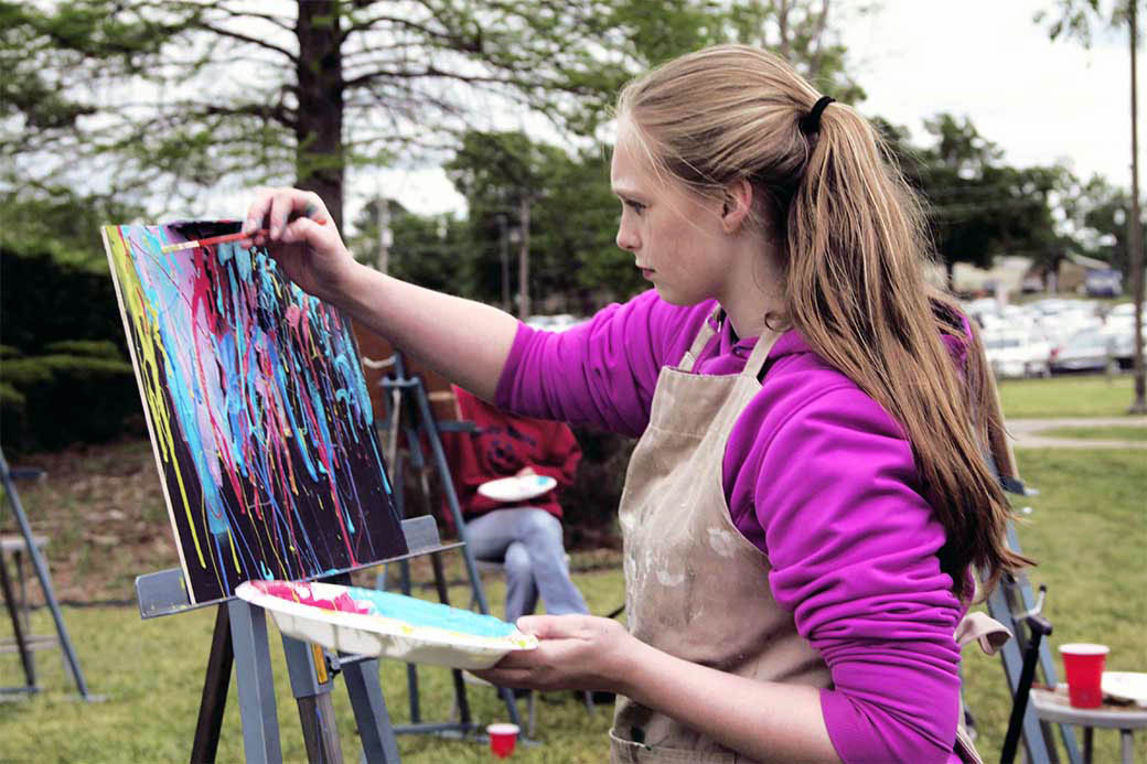 UA-PTC Art Student