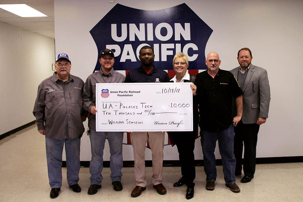 Union Pacific Foundation grant to add welding stations