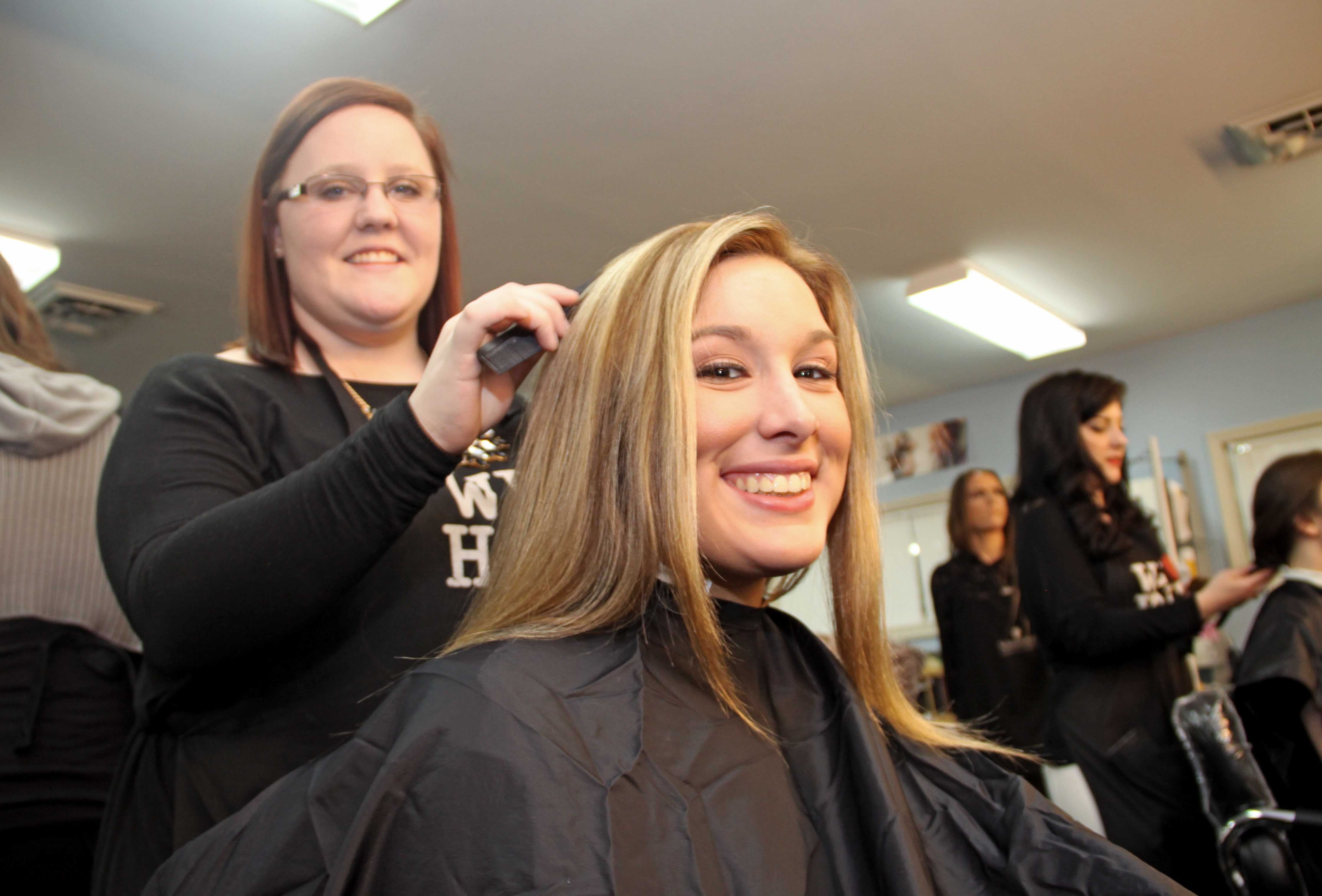 Cosmetology Students 4