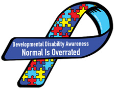 developmental disabilities ribbon