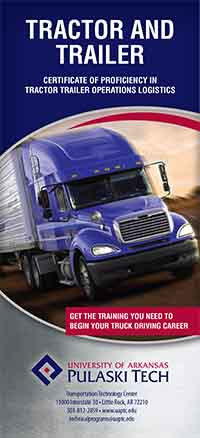 Tractor Trailer Operations Logistics Brochure